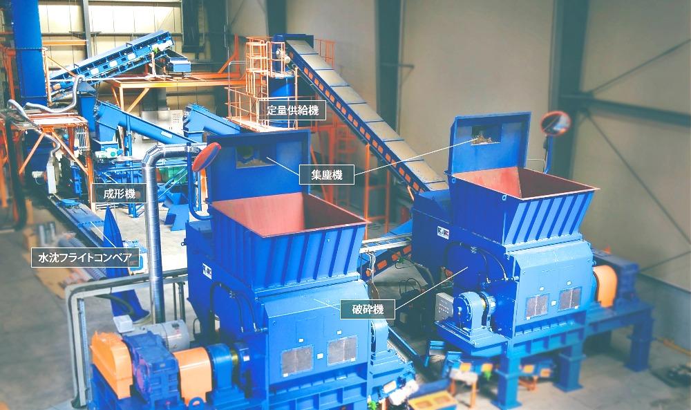 RPF新製造設備が竣工いたしました。