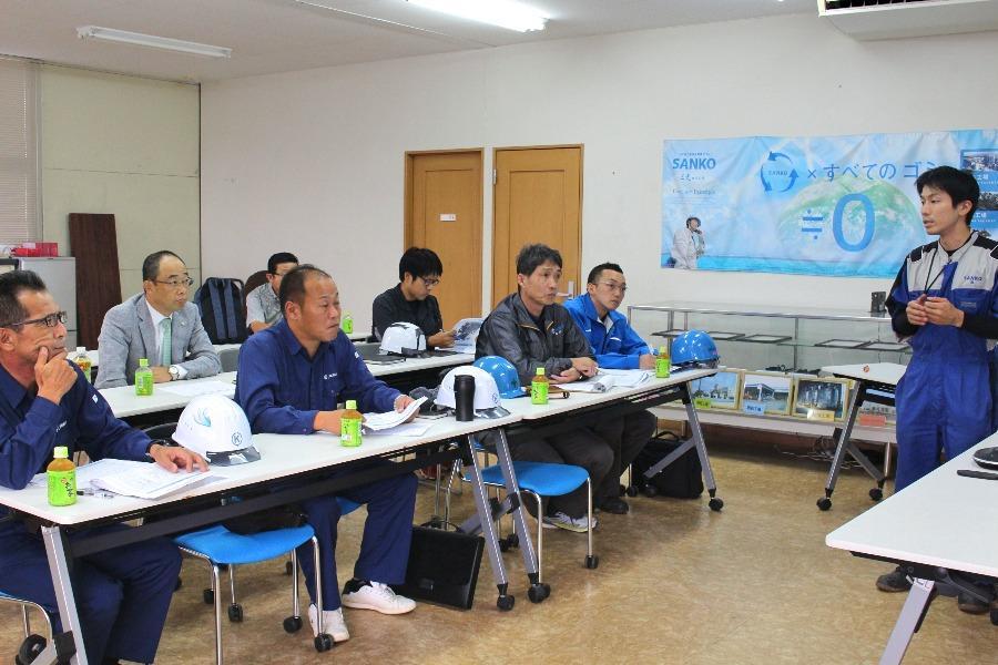 三光グループ安全衛生管理研修を行いました。