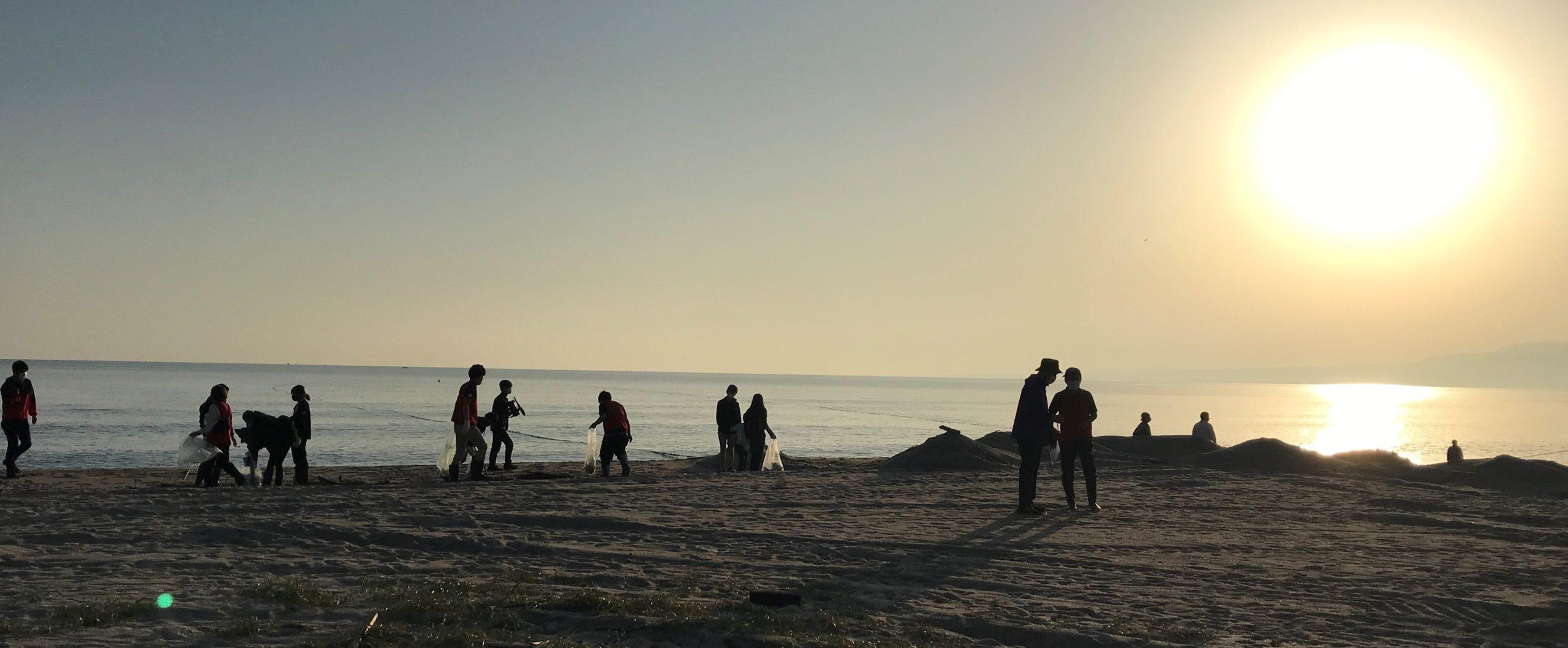 SDGs体験イベント『海の魚を網でとる!魚はゴミで困ってる?』が開催されました